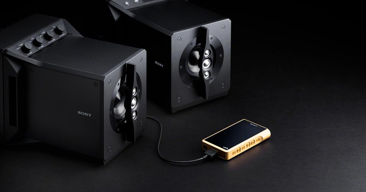 Sony adds near-field speakers to Signature Series