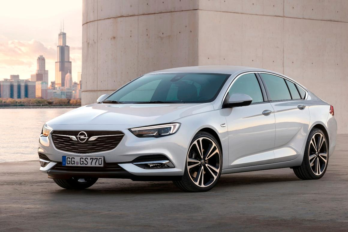 The new Opel Insignia Grand Sport will make its debut at the 2017 Geneva Motor Show