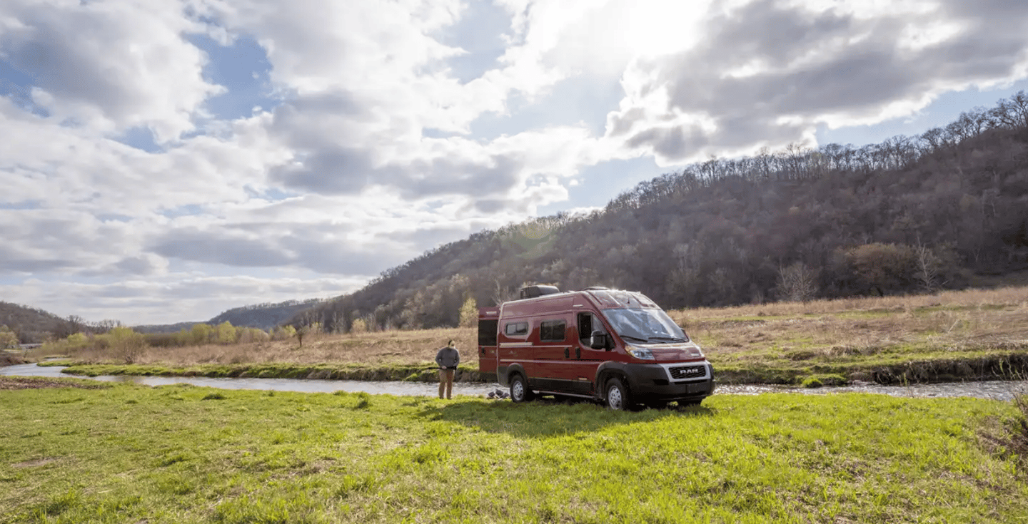 Winnebago positions the new Solis Pocket as an entry level van good for adventurous duos and trios