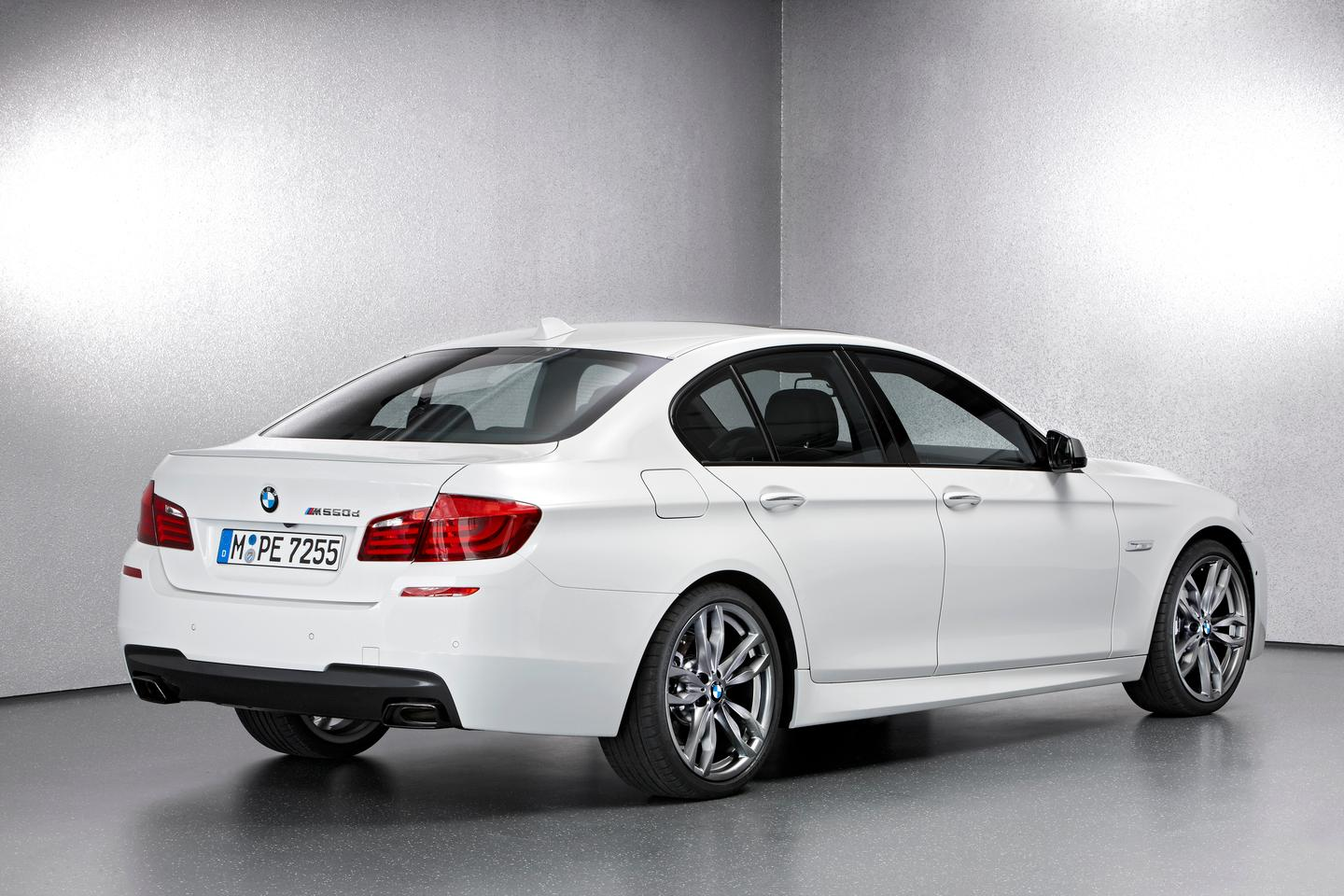 The BMW M550d xDrive