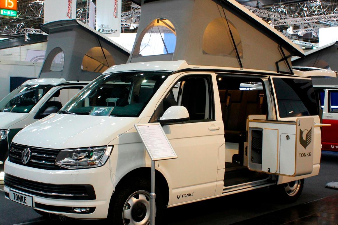 Gallery: Impressively packaged mini-camper vans that live