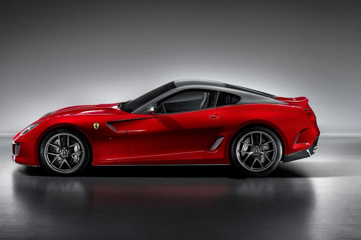 Unmistakeably Ferrari ... the new 599 GTO, Ferrari's fastest-ever road car with a top speed in excess of 335kmh/208 mph