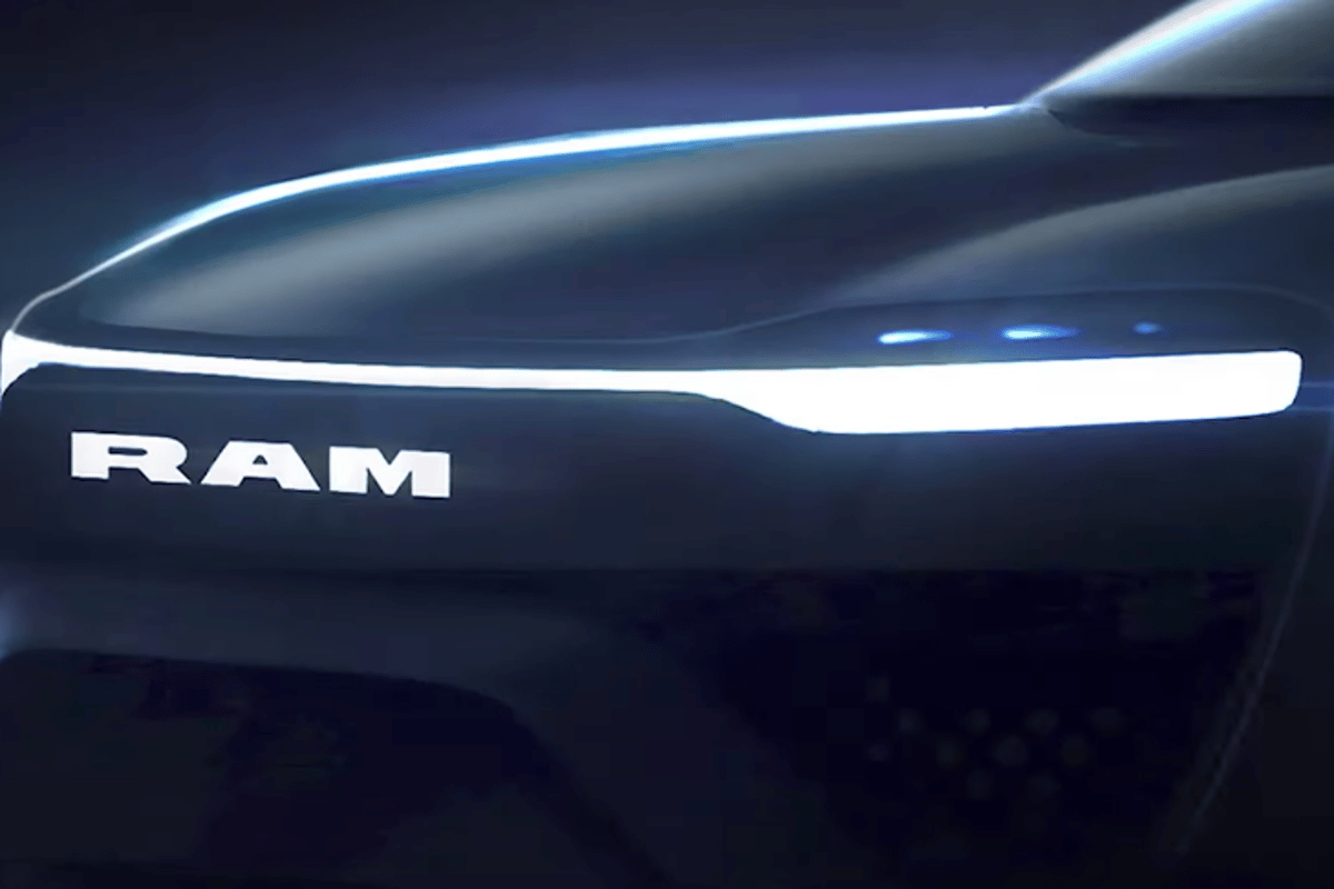 It looks like Ram will give its electric 1500 a more digital look