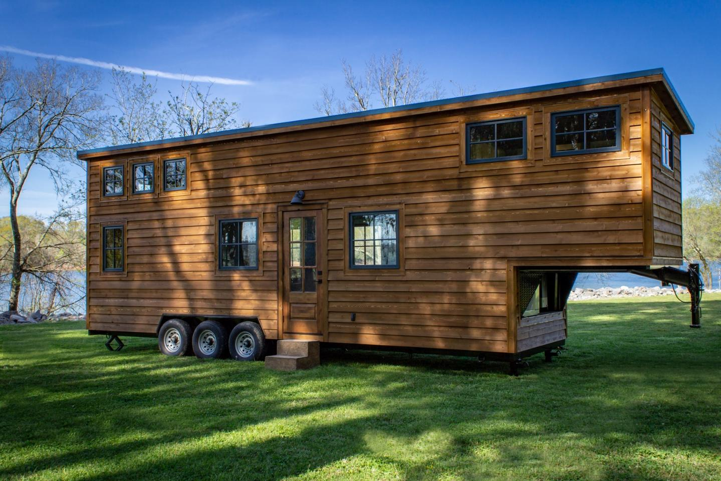 Timbercraft Tiny Homes, the firm behind the Retreat and Ridgewood models, recently completed a new tiny house called the Cedar House