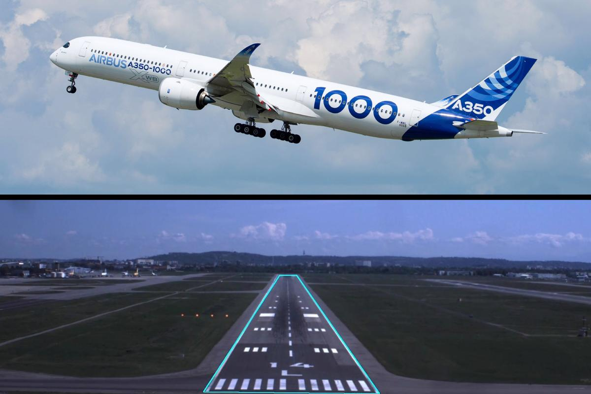 The Airbus ATTOL project fitted an A350-1000 with a fully self-contained, vision-based autonomous flight system capable of handling taxiing, take-offs and landings