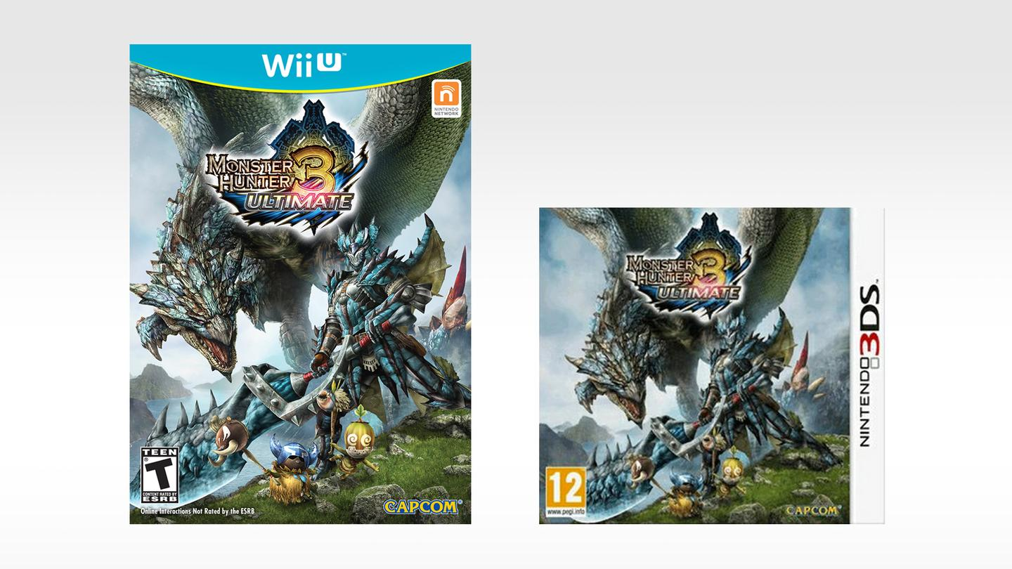 Capcom's Monster Hunter 3 Ultimate was released simultaneously on the Wii U and 3DS, and allowed users to switch between the two versions by transferring data between the systems over WiFi