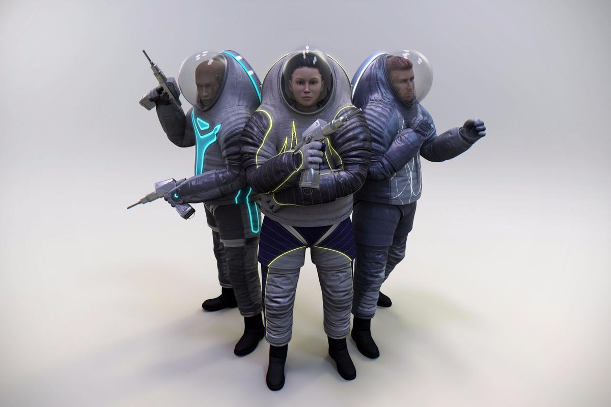 New space missions call for a new generation of spacesuits