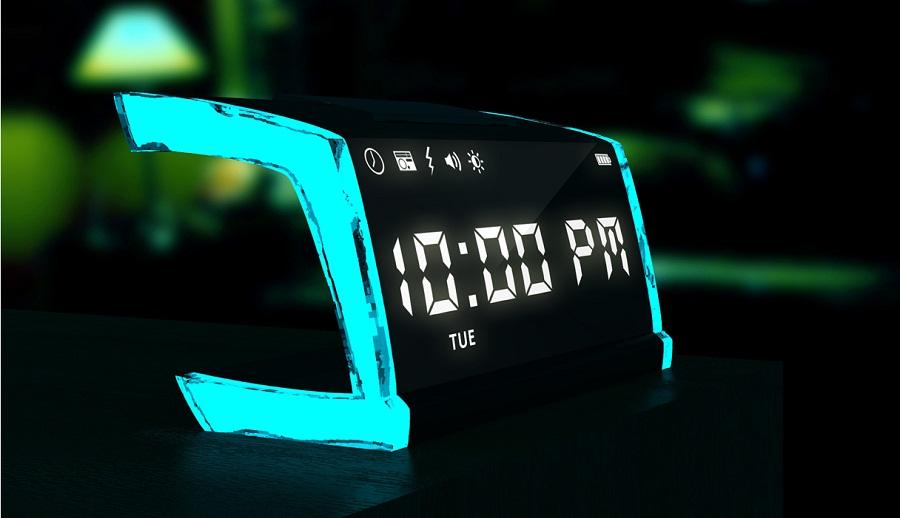 The singNshock plays your favorite music to rouse you before shocking you out of bed