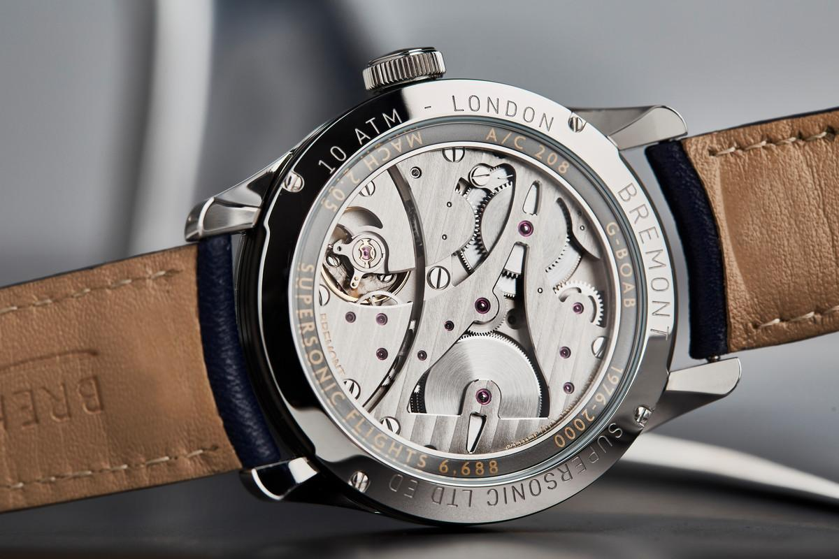 The Bremont Supersonic uses metal from one of the first Concordes
