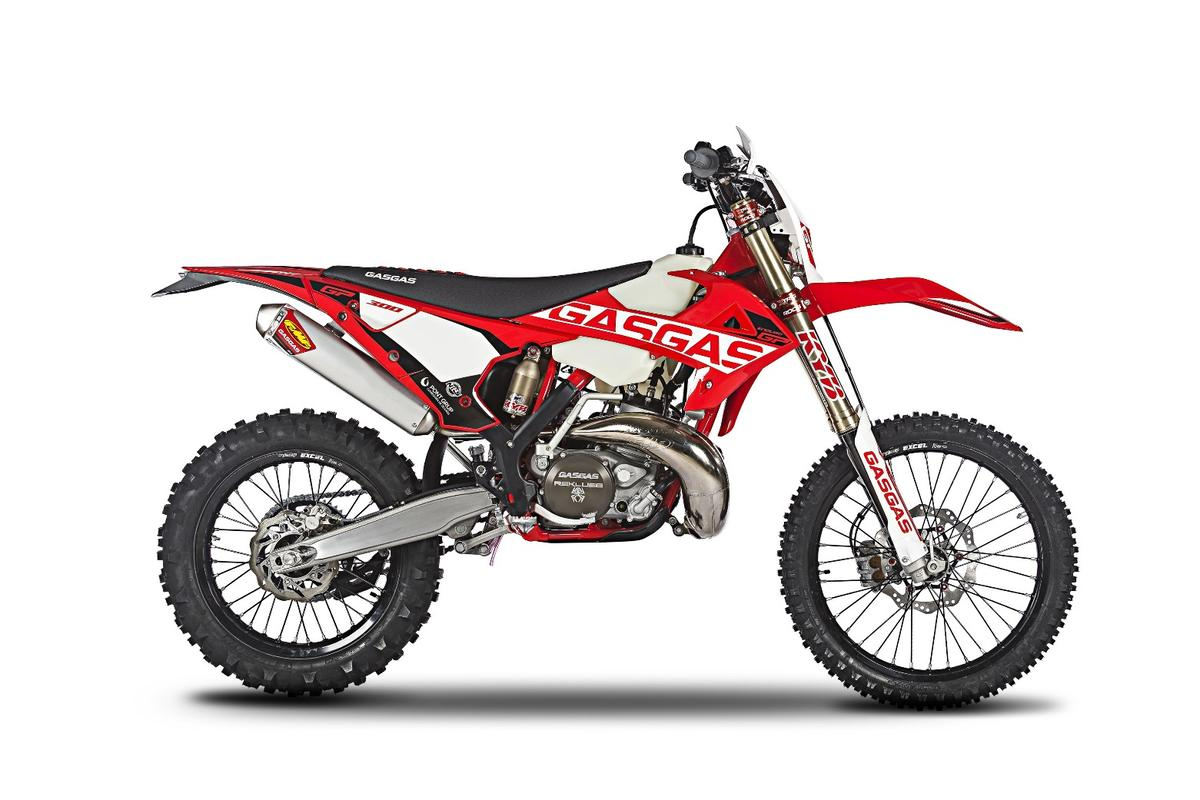 Gas Gas Enduro GP:a blinged-up, factory race spec version of the Spanish two-stroke dirt bike
