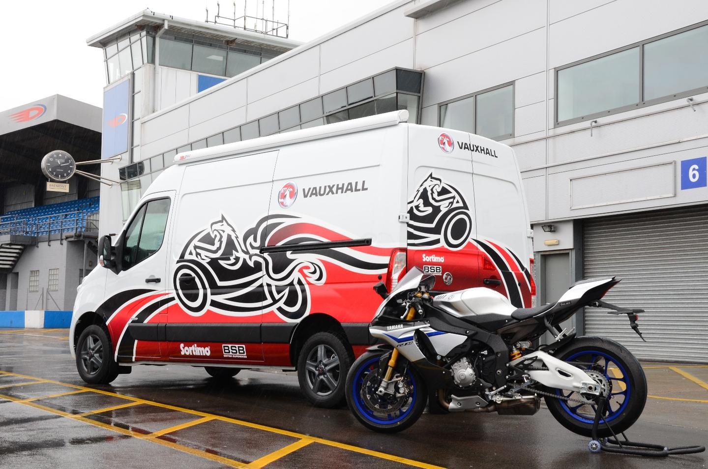 Vauxhall's Movano Race Van Concept with Yamaha YZF-R1M