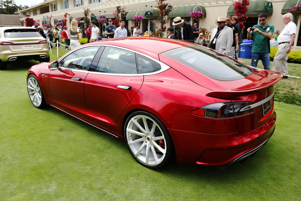 The FourSixteen is claimed faster through initial acceleration than a Model S thanks to a gearing update, giving it a 0-60 (96 km/h) time in the low four second range (Photo: Angus MacKenzie/Gizmag.com)