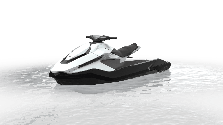 The Taiga Orca, a 180-horsepower electric PWC