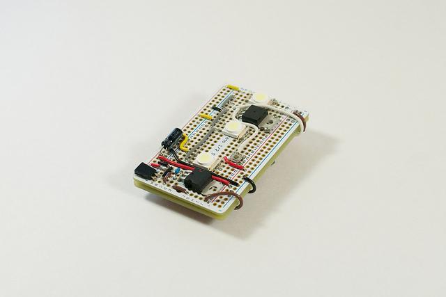 An early prototype of the Nova flash