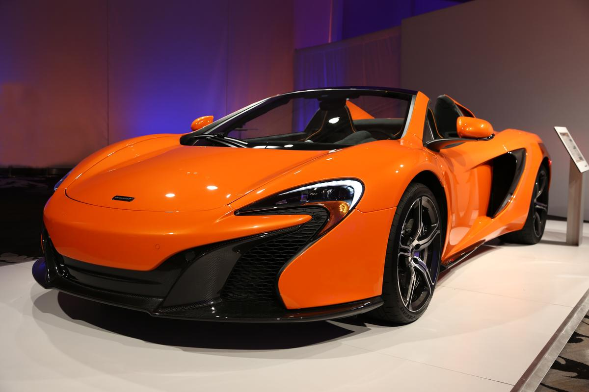 The 650S now makes 641 hp with torque increased significantly from 443 lb.ft to 500 lb.ft (Photo: Angus MacKenzie/Gizmag.com)