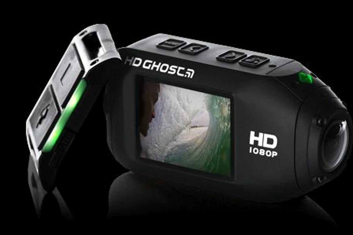 Drift Innovation has unveiled its latest actioncam, the Drift HD Ghost