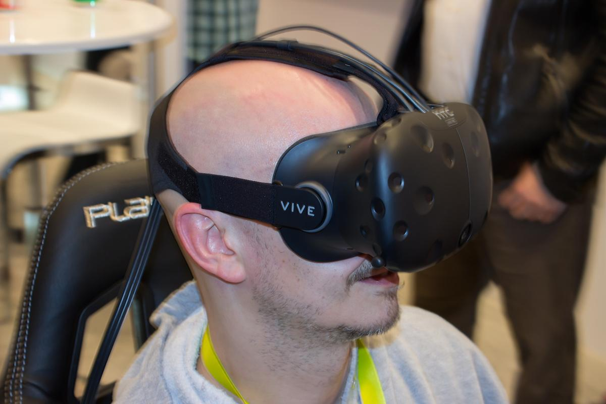 The HTC Vive Pre is the company's final pre-consumer headset