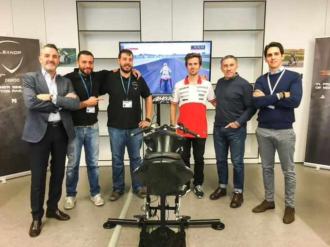 The LeanGP team with a prototype