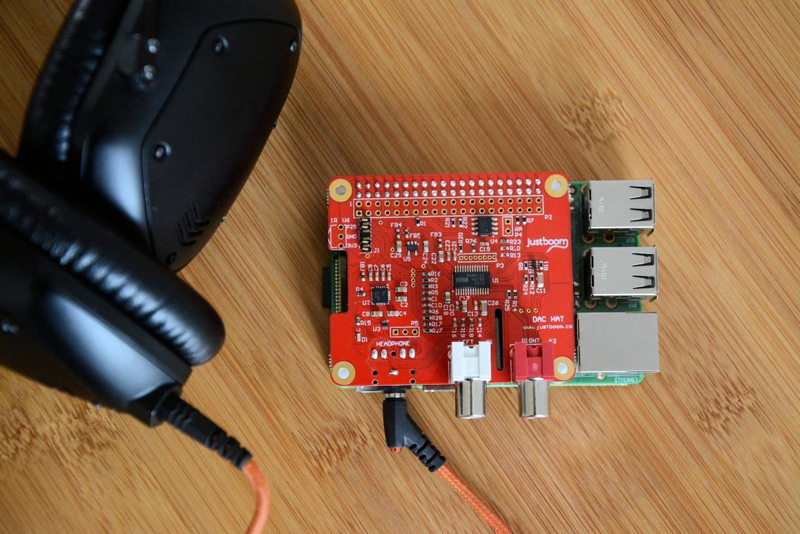 Review: Giving the Pi a new HAT to wear for audio quality bump