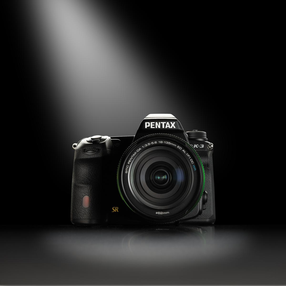 The Pentax K-3 DSLR from Ricoh Imaging