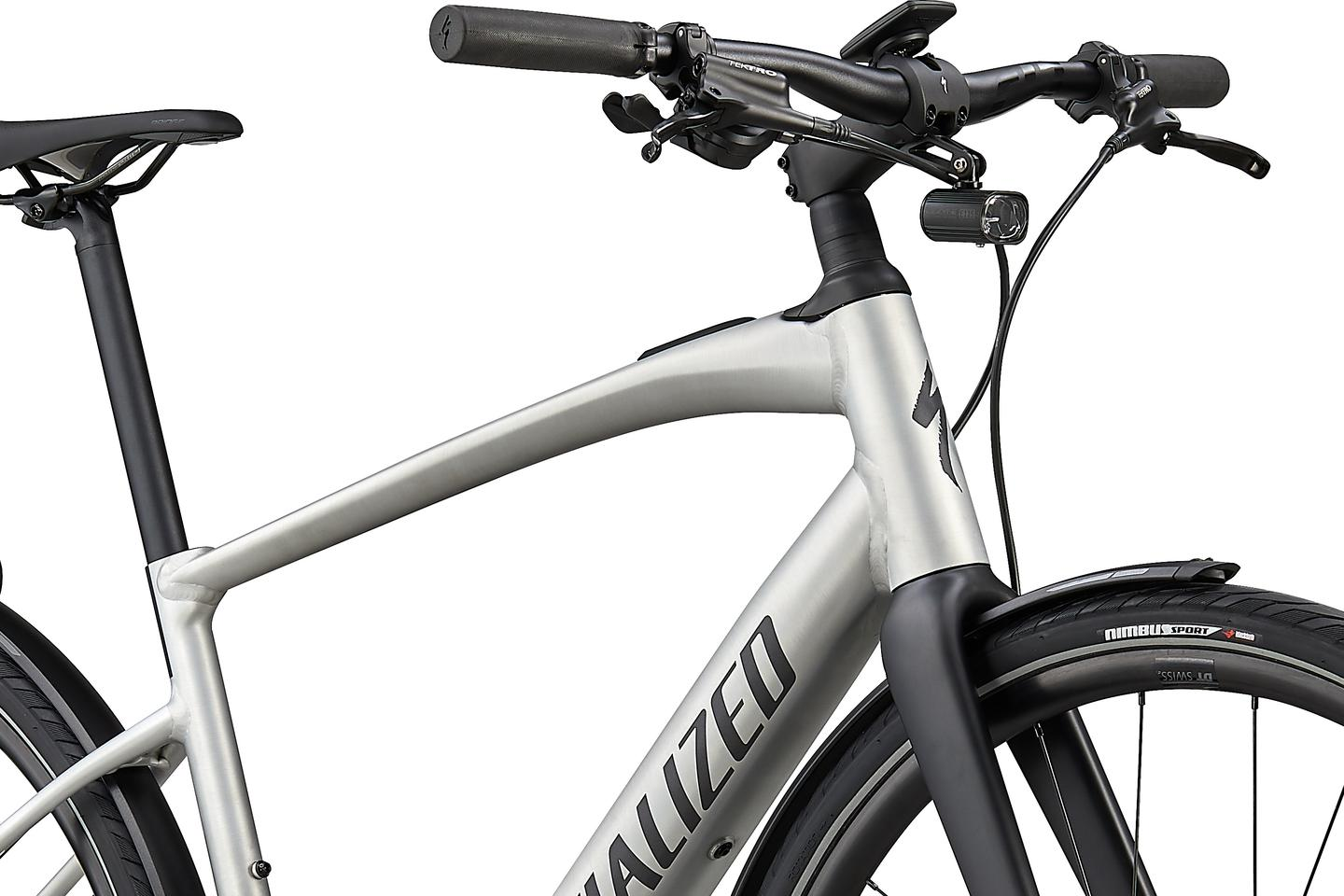 The Turbo Vado SL 5.0 ebike features Future Shock suspension for smoothing out the bumps