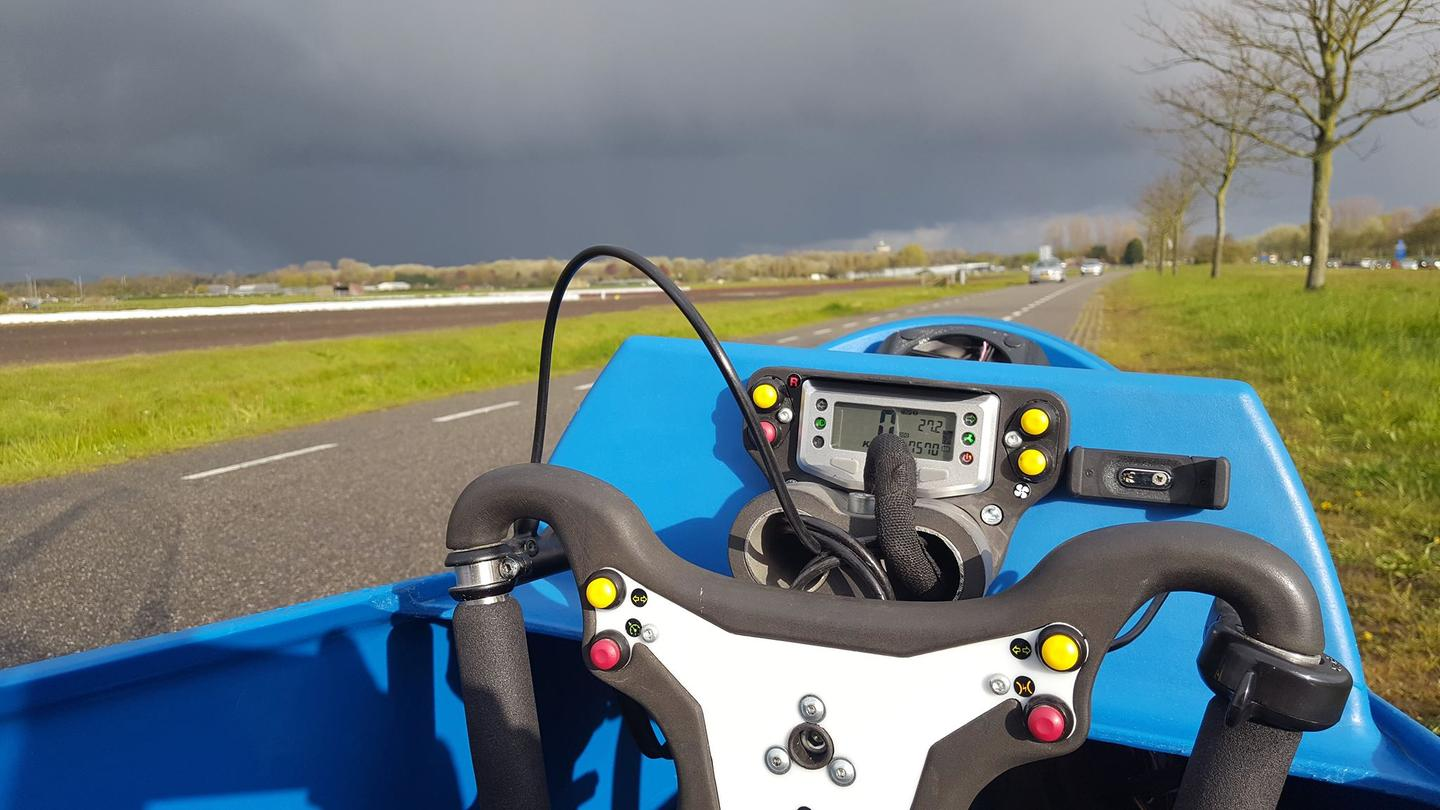 A view from the LEF's cockpit