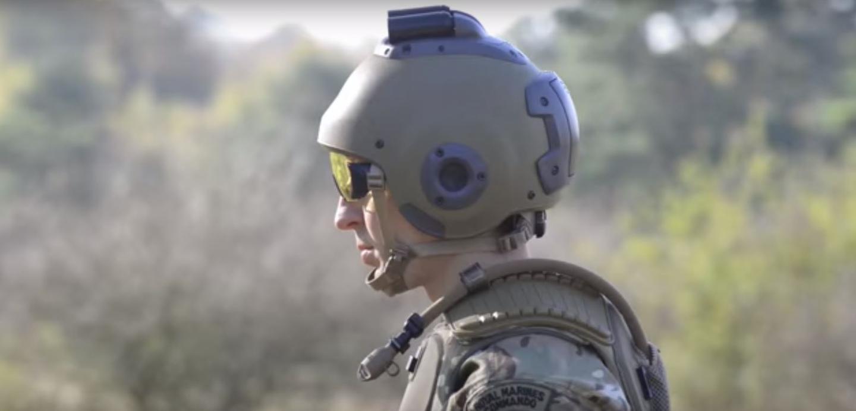 The FSV helmet has bone-conducting headphones