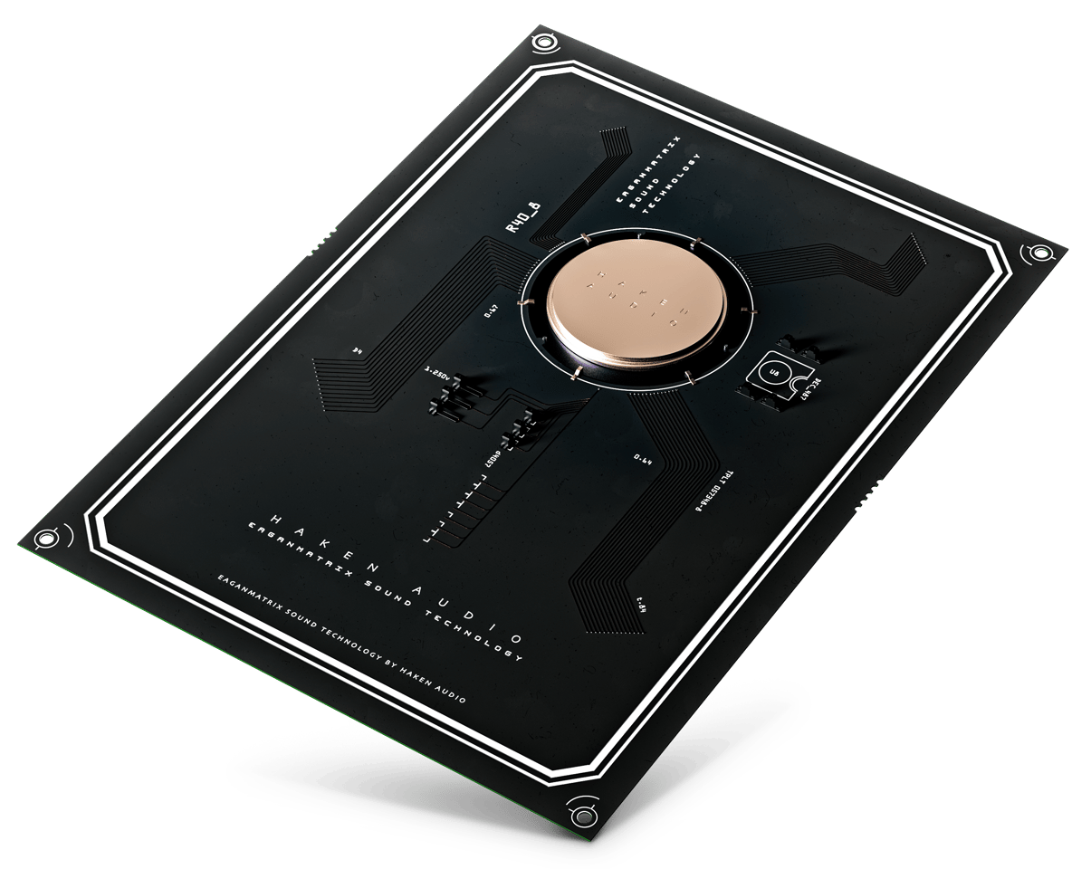 Expressive E's Augmented Keyboard Action mechanism is partnered with Haken Audio's EaganMatrix sound engine for the Osmose keyboard