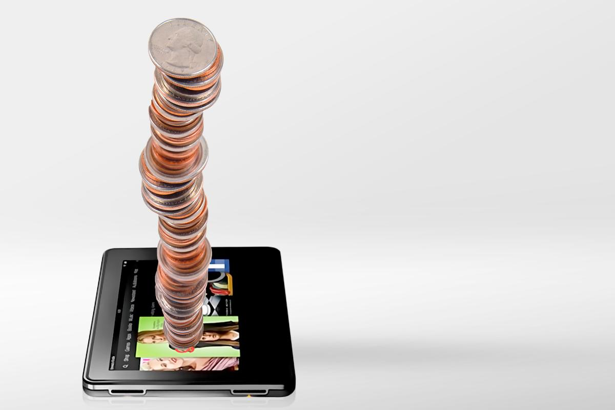 "In May, Amazon will give Kindle Fire owners ""tens of millions of dollars"" worth of virtual coins (coins image: Shutterstock)"