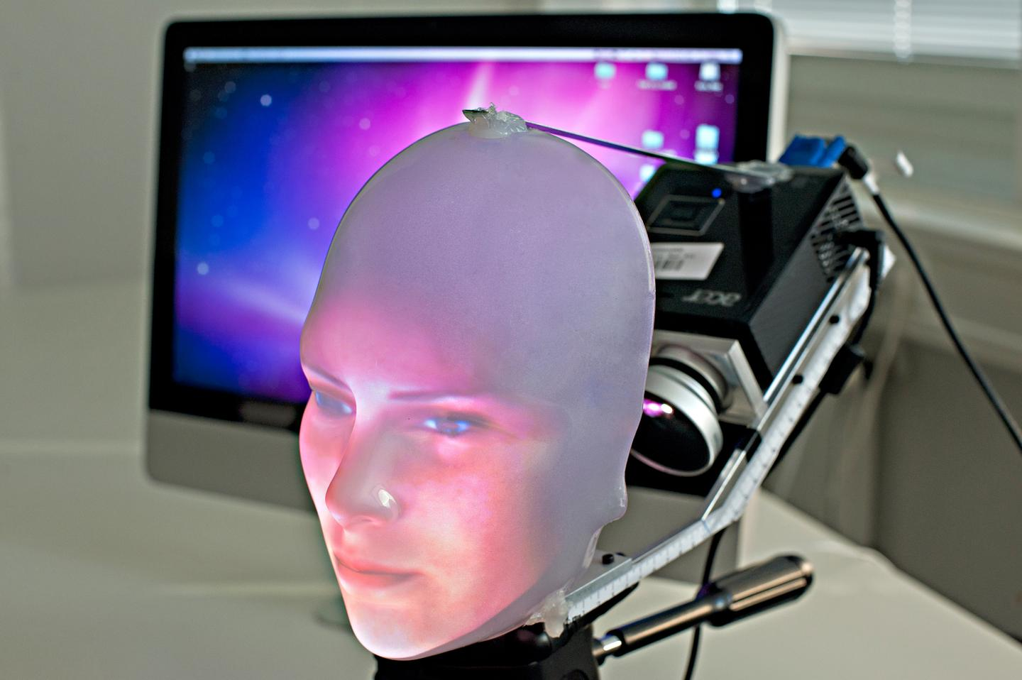 Mask-bot could be used for video conferences