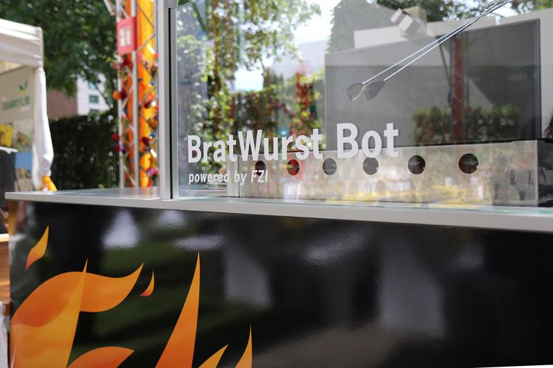 The BratWurst Bot is designed for autonomous grilling