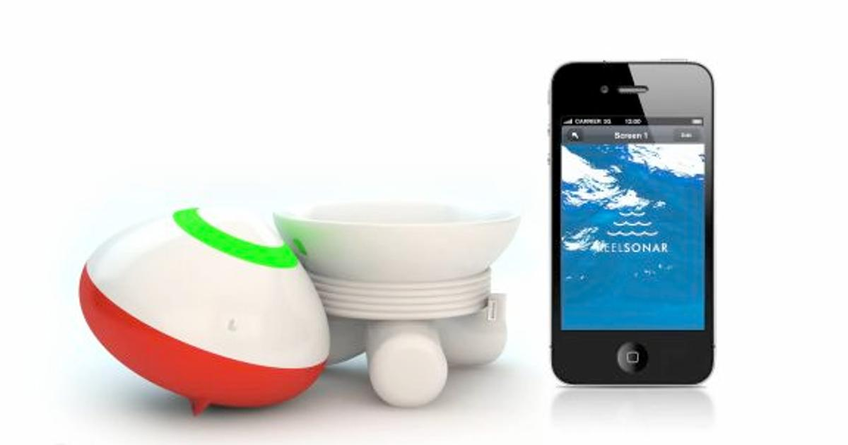 The ReelSonar bobber and app