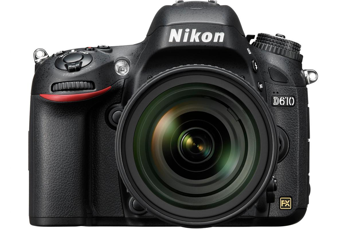 The D610 is the latest entry-level full-frame camera from Nikon