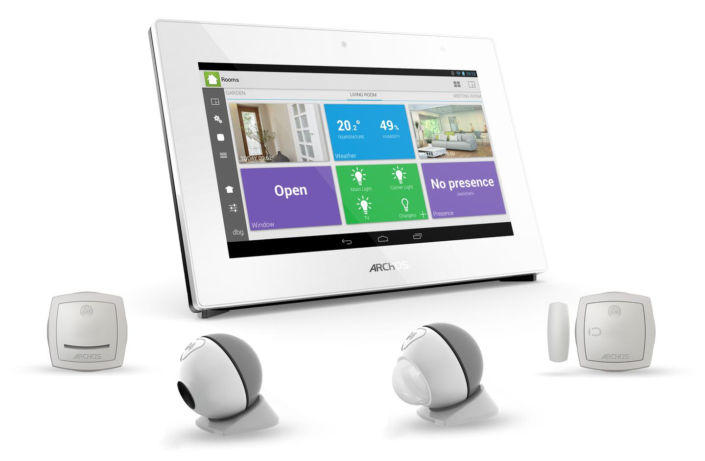 The Smart Home tablet and connected objects