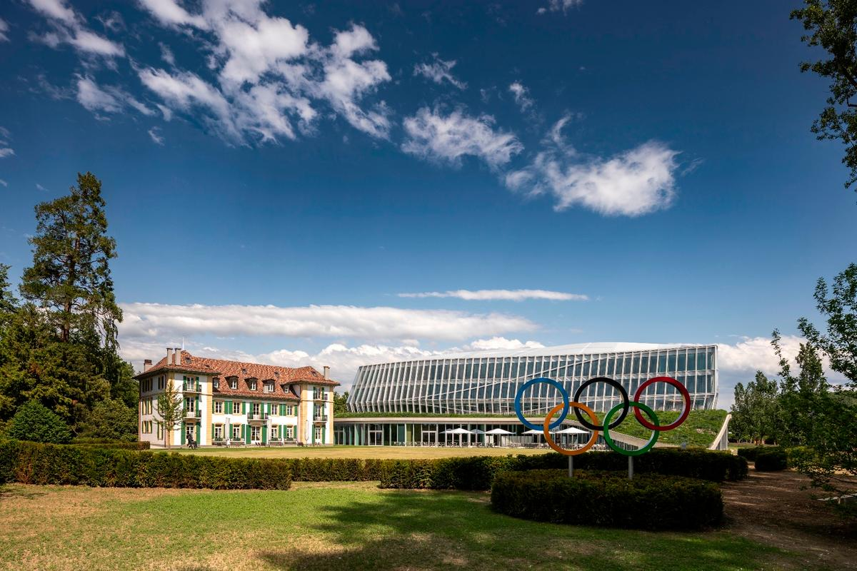 The Olympic House serves as workplace to a total of 500 staff