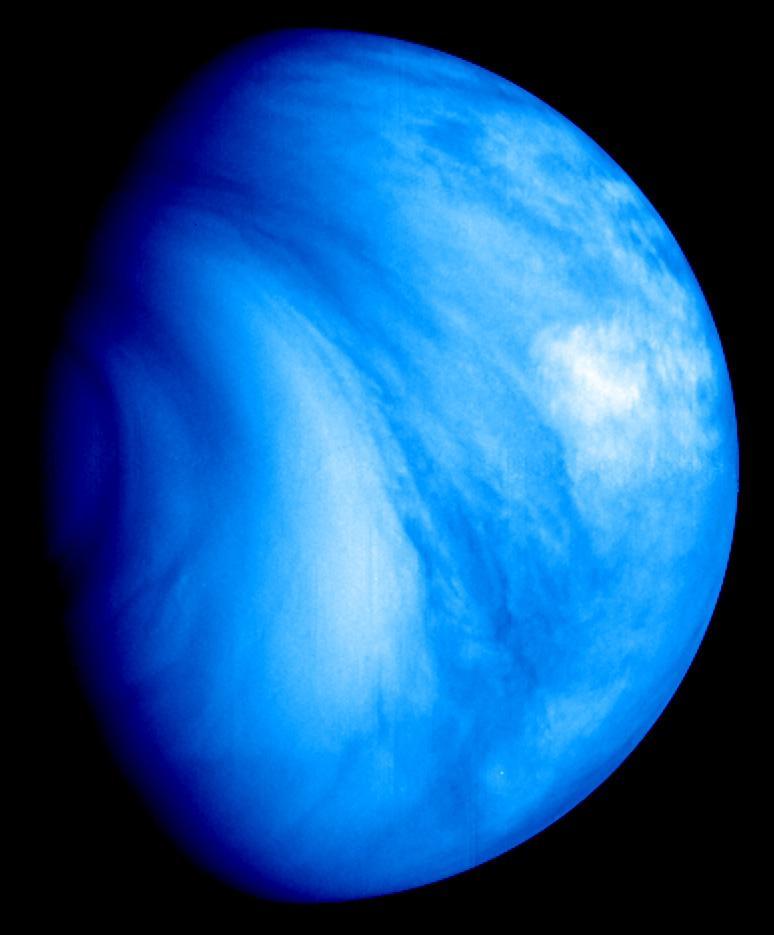 Venus as seen from the Venus Express orbiter