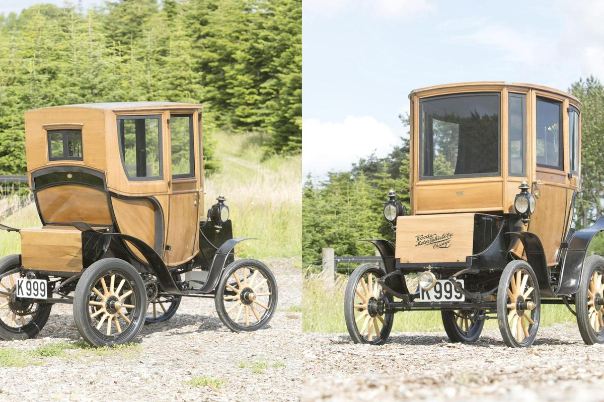 This 1905 Woods Queen Victoria Brougham is the only known surviving example of the model