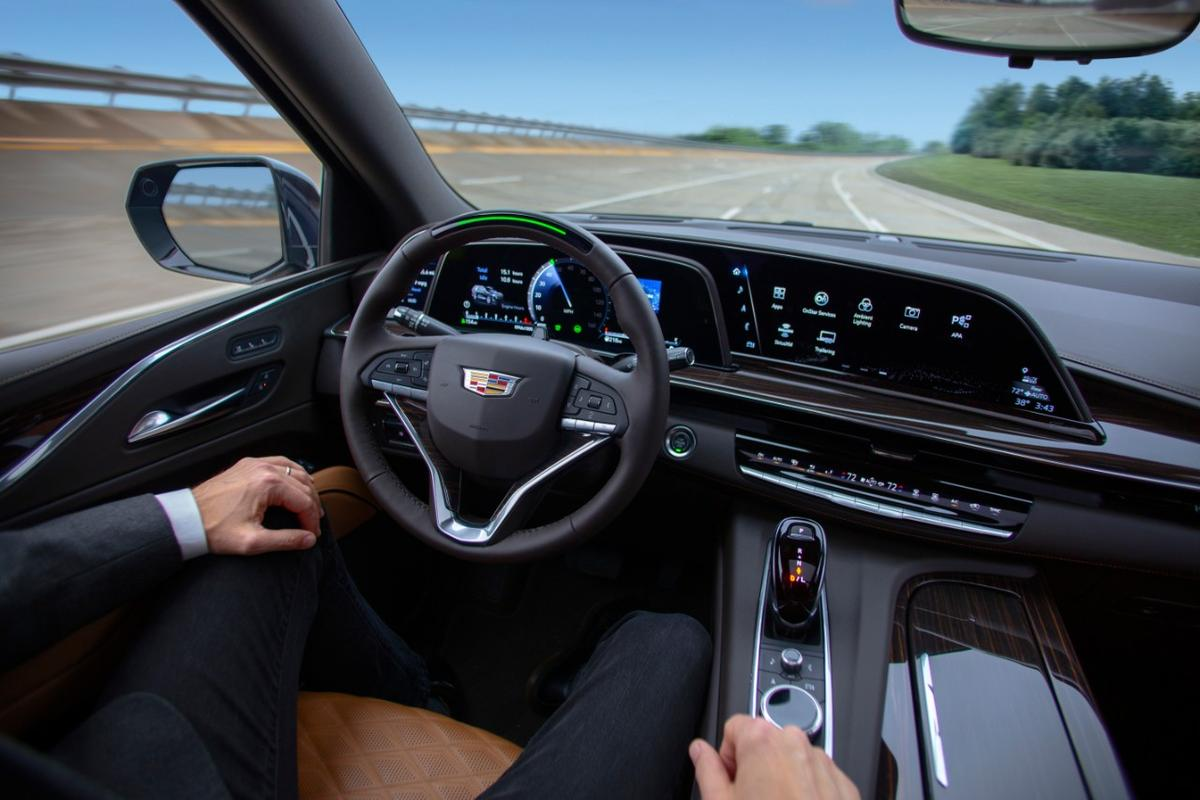 The GM Super Cruise driver-assistance system pictured is about to get boosted into Ultra mode