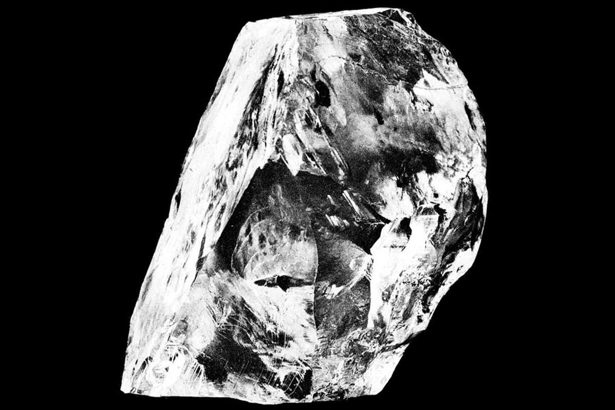 New study of the world's biggest, most famous diamonds, such as the Cullinan diamond pictured, haveprovidedinsights into the Earth's mantle and the geological history of our planet