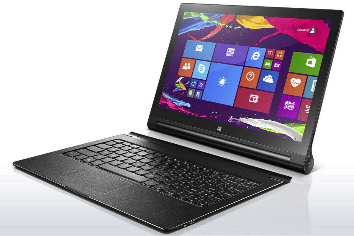 Lenovo's new 13-inch Yoga Tablet 2 runs on Windows 8.1 and treads the line between tablet and ultrabook