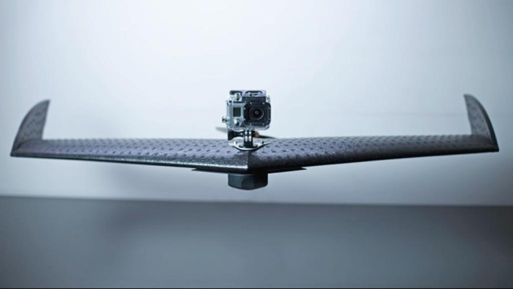 The LA100 is designed to carry a GoPro HERO3 for capturing aerial images