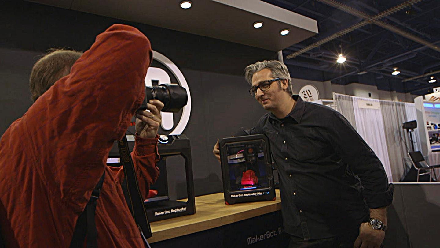 Print the Legend tells the story of Bre Pettis, CEO of MakerBot, as well as other 3D printing start-up success stories