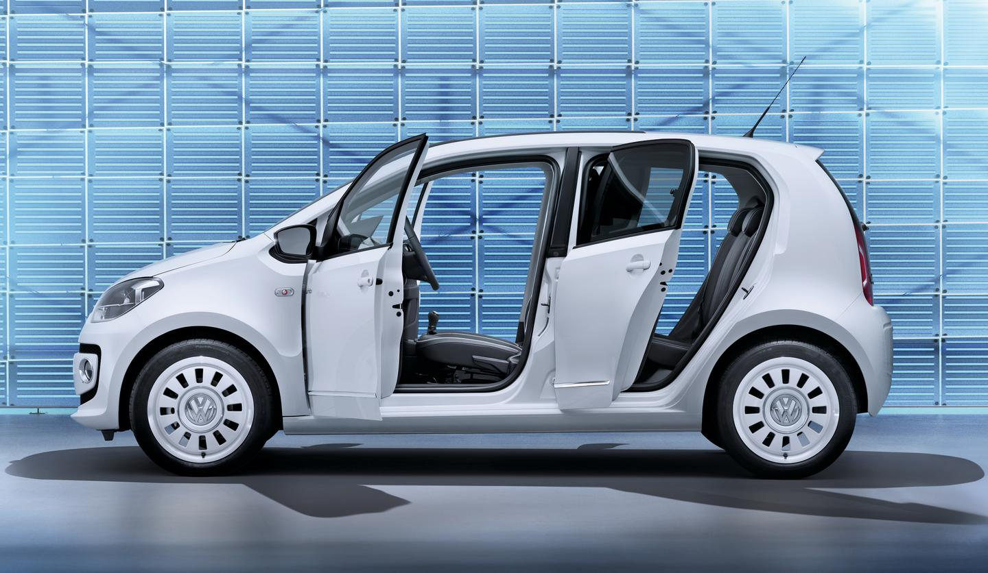 The new five-door up! from Volkswagen will launch in Europe this year