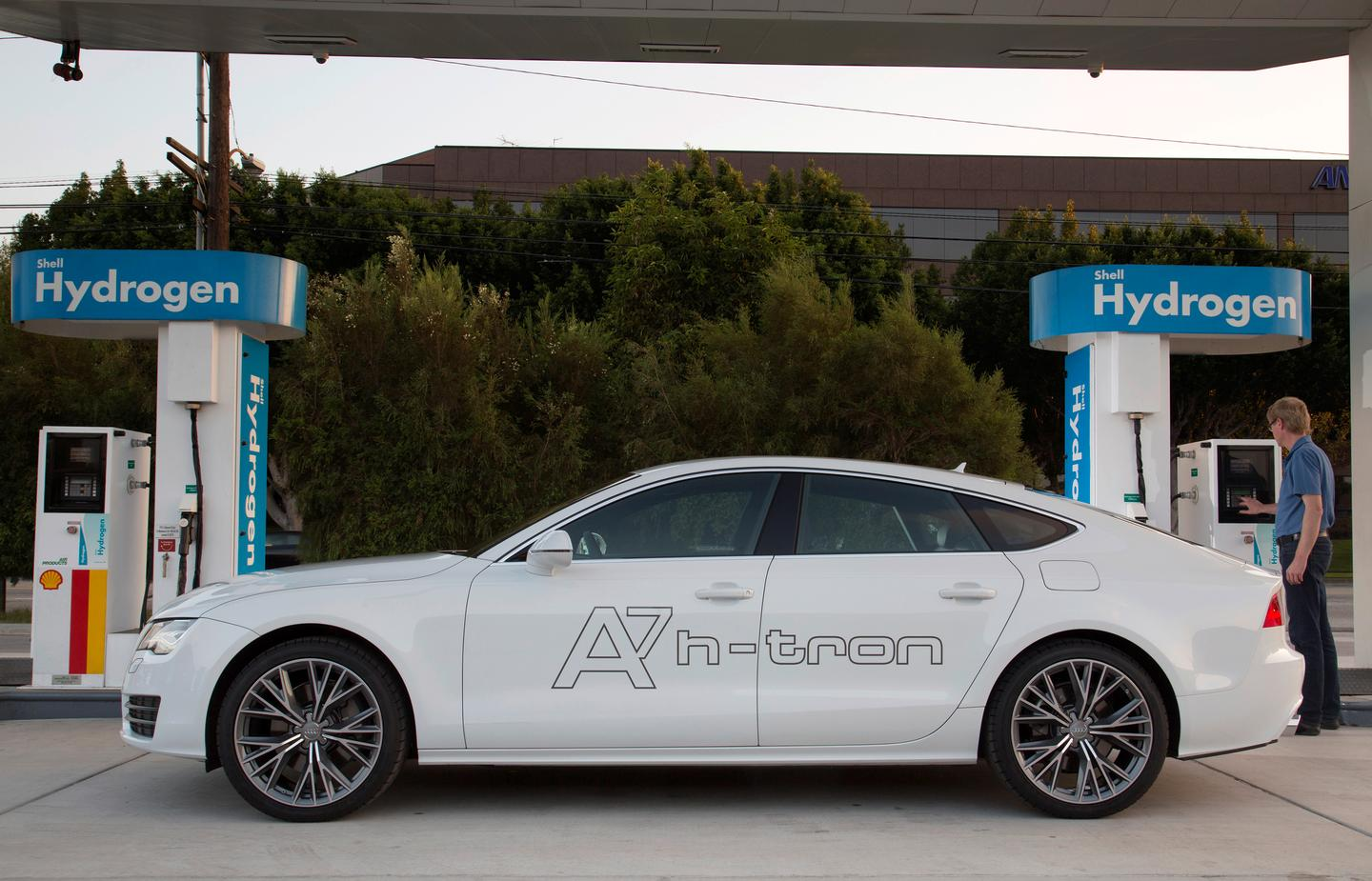 Audi demonstrates its fuel cell technology