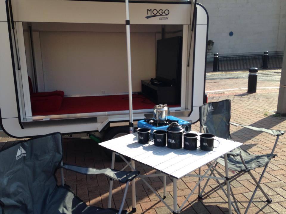 Mogo Freedom creates a tiny, portable movie theater