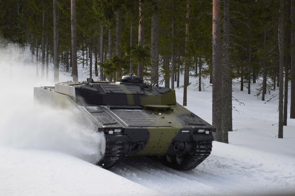 The CV90 uses Active Damper technology originally designed for F1 racers