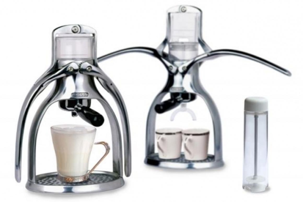 Presso mechanical espresso coffee machine