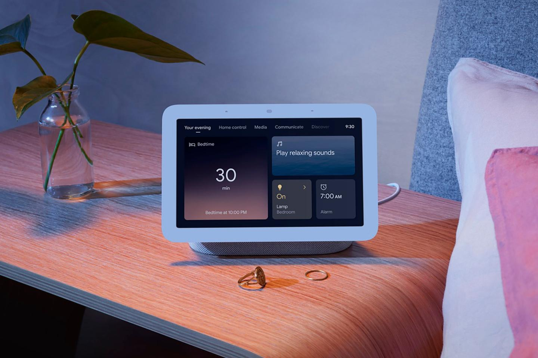 The new Nest Hub uses miniaturized radar technology to track your sleep patterns
