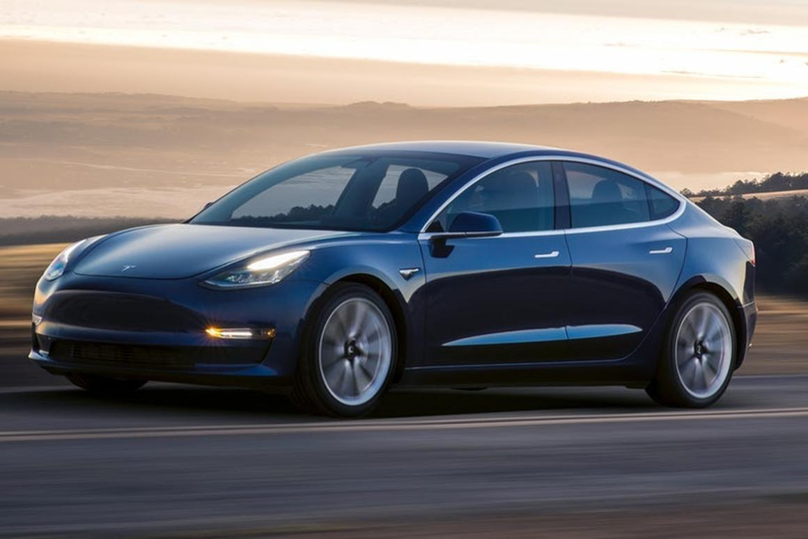 Tesla has long targeted a 5,000-strong weekly production of its Model 3