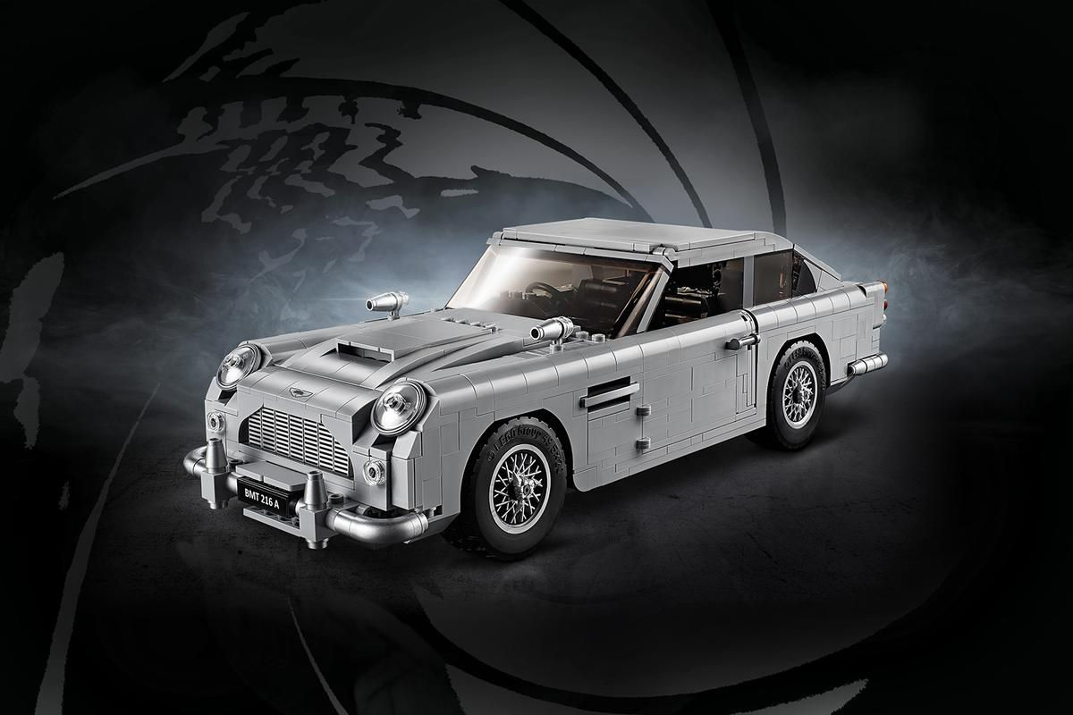 Build a piece of James Bond history with the Lego Aston Martin DB5